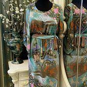 Одежда ручной работы. Ярмарка Мастеров - ручная работа Шифоновое платье.. Handmade.