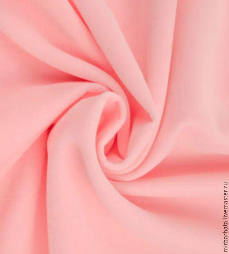 Бархат  хлопковый.  Цвет розовый. Производство Италия.  Ширина - 150 см. Состав - 100% СО Стоимость - 27 $ за погонный метр.