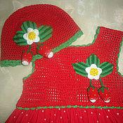 """Работы для детей, ручной работы. Ярмарка Мастеров - ручная работа Комплект """"Мамина ягодка"""". Handmade."""