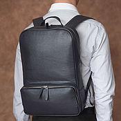 Сумки и аксессуары handmade. Livemaster - original item Backpack men`s leather