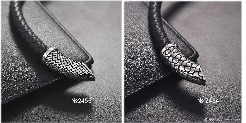 2454/2455 Концевик заглушка для шнура 8мм нержавеющая сталь, Шнуры, Самара,  Фото №1