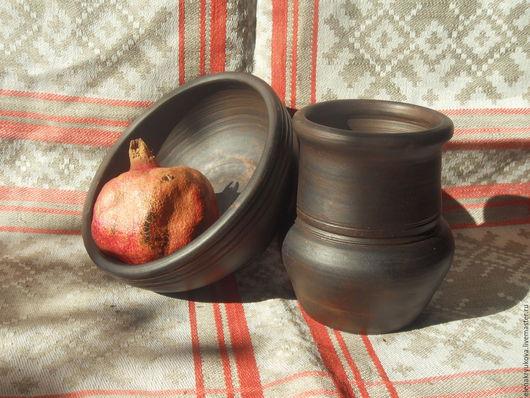 Пиалы ручной работы. Ярмарка Мастеров - ручная работа. Купить гончарная керамика. Handmade. Крынка, коричневый