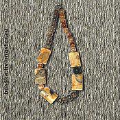 """Украшения ручной работы. Ярмарка Мастеров - ручная работа Колье """"Автаркия (самодостаточность)"""". Handmade."""