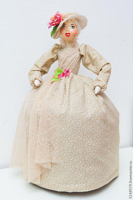 Кухня ручной работы. Ярмарка Мастеров - ручная работа. Купить Кукла на чайник Мамзель-2. Handmade. Народная кукла, для кухни