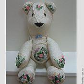 Куклы и игрушки ручной работы. Ярмарка Мастеров - ручная работа Мишка Эмиль. Handmade.