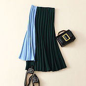 Одежда handmade. Livemaster - original item Pleated skirt ( cashmere ). Handmade.