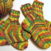 Аксессуары ручной работы. Ярмарка Мастеров - ручная работа для малышей 2 пары носочков. Handmade.