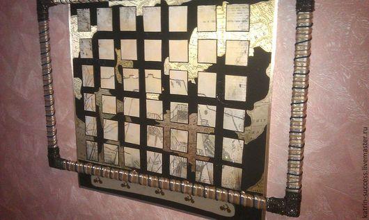 Абстракция ручной работы. Ярмарка Мастеров - ручная работа. Купить Картина Путешествие. Handmade. Картина в подарок, абстракция, мотоцикл, рама