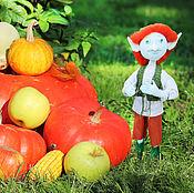 Куклы и игрушки ручной работы. Ярмарка Мастеров - ручная работа Текстильная кукла тролль – авторская игрушка. Handmade.