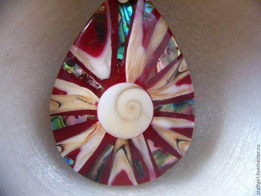 """Для украшений ручной работы. Ярмарка Мастеров - ручная работа. Купить Подвески 2 вида, """" Глаз Шивы"""", 55 х 38 мм. Handmade."""