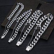 Украшения handmade. Livemaster - original item Silver classic unisex bracelet. Handmade.