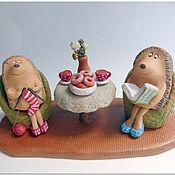 Куклы и игрушки ручной работы. Ярмарка Мастеров - ручная работа ЕЖЕвечернее чапитие. Handmade.