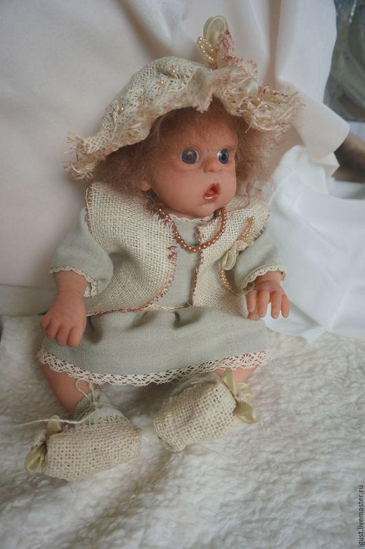 Куклы-младенцы и reborn ручной работы. Ярмарка Мастеров - ручная работа. Купить Офелия. Handmade. Бежевый, эльф, лауша