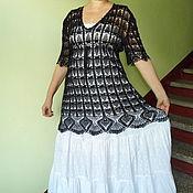 Одежда ручной работы. Ярмарка Мастеров - ручная работа Платье Царица ночи. Handmade.