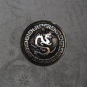 "Украшения manualidades. Livemaster - hecho a mano Украшение - подвеска ""Дракон"". Handmade."