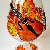 Для дома и интерьера ручной работы. Ярмарка Мастеров - ручная работа Ваза Осенняя мелодия. Handmade.