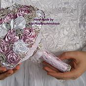 Свадебный салон handmade. Livemaster - original item Brooch Bouquet for bride