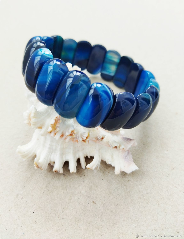 Beautiful bracelet ' Agate beauty', Bead bracelet, Feodosia,  Фото №1