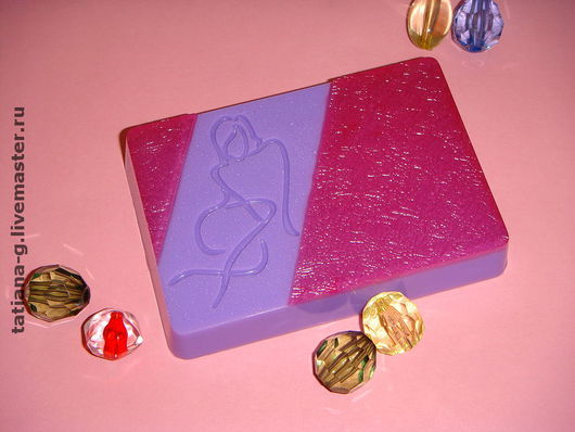 """Мыло ручной работы. Ярмарка Мастеров - ручная работа. Купить Мыло ручной работы """"Леди ШАРМ"""". Handmade. леди"""