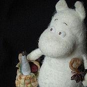 Куклы и игрушки ручной работы. Ярмарка Мастеров - ручная работа Муми-троль. Handmade.