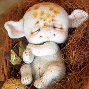 Куклы и игрушки ручной работы. Ярмарка Мастеров - ручная работа Дрёма по имени Тосечка. Handmade.