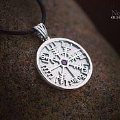 Украшения handmade. Livemaster - original item Vegvisir - runic compass. Handmade.