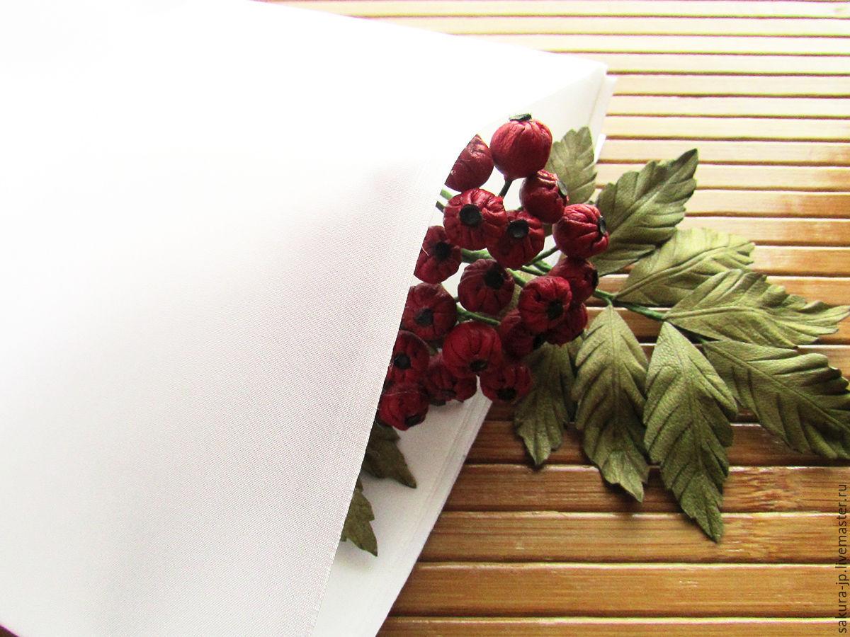 Buseruka (Benshiruku). Japanese fabric flowers. SAKURA - materials for citadele.