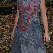 """Одежда ручной работы. Ярмарка Мастеров - ручная работа платье """"СТАЛЬ"""". Handmade."""