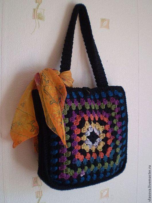 Женские сумки ручной работы. Ярмарка Мастеров - ручная работа. Купить сумка женская крючком. Handmade. Сумка женская, сумка