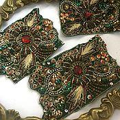 Материалы для творчества handmade. Livemaster - original item Antique embroidery №834. Handmade.