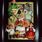 """Картины и панно ручной работы. Ярмарка Мастеров - ручная работа """"У бабуси"""". Handmade."""