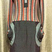 Одежда ручной работы. Ярмарка Мастеров - ручная работа Рыжеполосатая зеленка. Handmade.