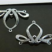 Материалы для творчества handmade. Livemaster - original item Accessories USA, filigree silver 12 MK. Handmade.