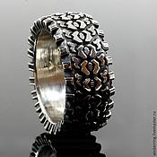 """Кольца ручной работы. Ярмарка Мастеров - ручная работа Мужское серебряное кольцо """"Protector"""". Handmade."""