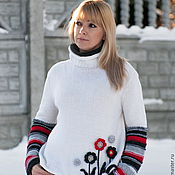 Одежда handmade. Livemaster - original item Sweater knitted women`s