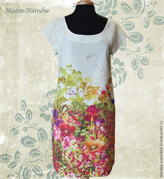 шерстяное платье Эдемский Сад