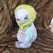 """Куклы и игрушки ручной работы. Ярмарка Мастеров - ручная работа Медведь Мук """"I love you"""". Handmade."""