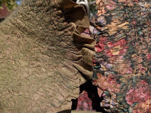 """Жилеты ручной работы. Ярмарка Мастеров - ручная работа. Купить Жилет """"В лесу"""". Handmade. Комбинированный, красота, волокна вискозы"""