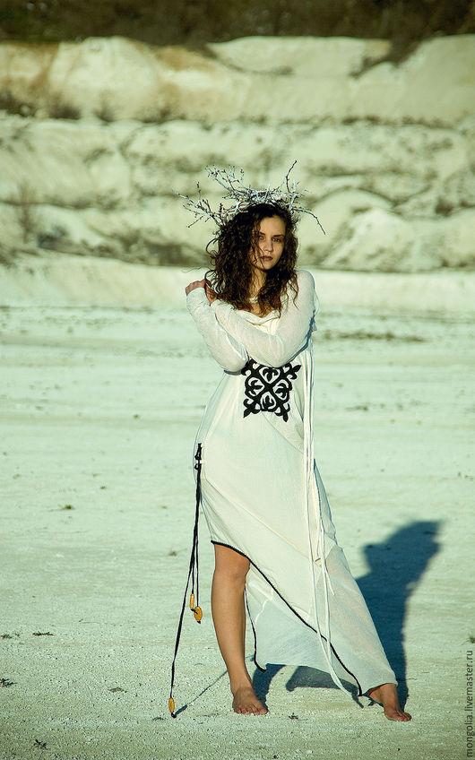 Платья ручной работы. Ярмарка Мастеров - ручная работа. Купить Платье Nomad. Handmade. Платье, платья на вечеринку, бежевое платье