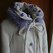 Работы для детей, ручной работы. Ярмарка Мастеров - ручная работа Пальто ПТК 1037. Handmade.