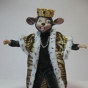 Куклы и игрушки ручной работы. Ярмарка Мастеров - ручная работа Кукла- игрушка Мышиный Король. Handmade.