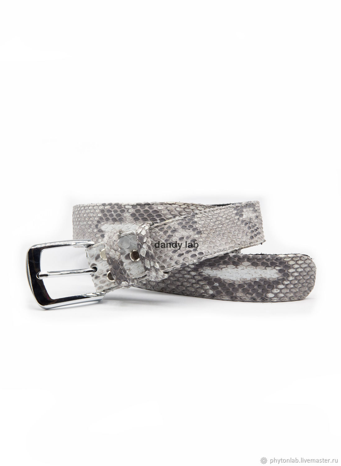 Python leather belt, Straps, Moscow,  Фото №1