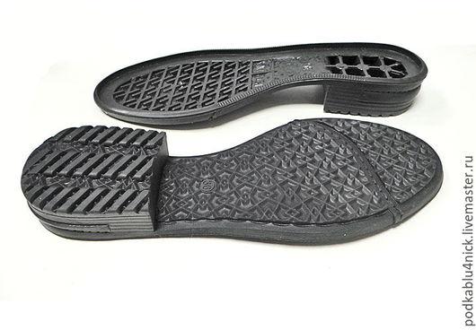 Другие виды рукоделия ручной работы. Ярмарка Мастеров - ручная работа. Купить Подошва для обуви Полина. Handmade. Черный