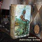 Для дома и интерьера ручной работы. Ярмарка Мастеров - ручная работа Шкатулка-книга для карт Таро Исида. Handmade.