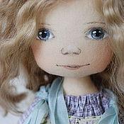 Куклы и игрушки ручной работы. Ярмарка Мастеров - ручная работа Цветочная Гномочка в сиреневом. Handmade.