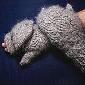 Аксессуары handmade. Livemaster - original item Women`s mittens-transformers `Baltic Wind`. Handmade.