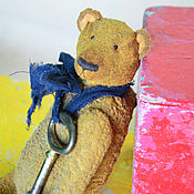 Куклы и игрушки ручной работы. Ярмарка Мастеров - ручная работа Медведь Демьян. Handmade.