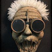 Субкультуры handmade. Livemaster - original item Mask MAD Einstein. Handmade.