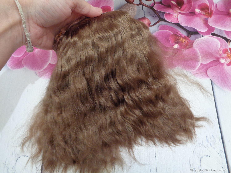 Материалы: Кукольные волосы (козочка), , Троицк, Фото №1