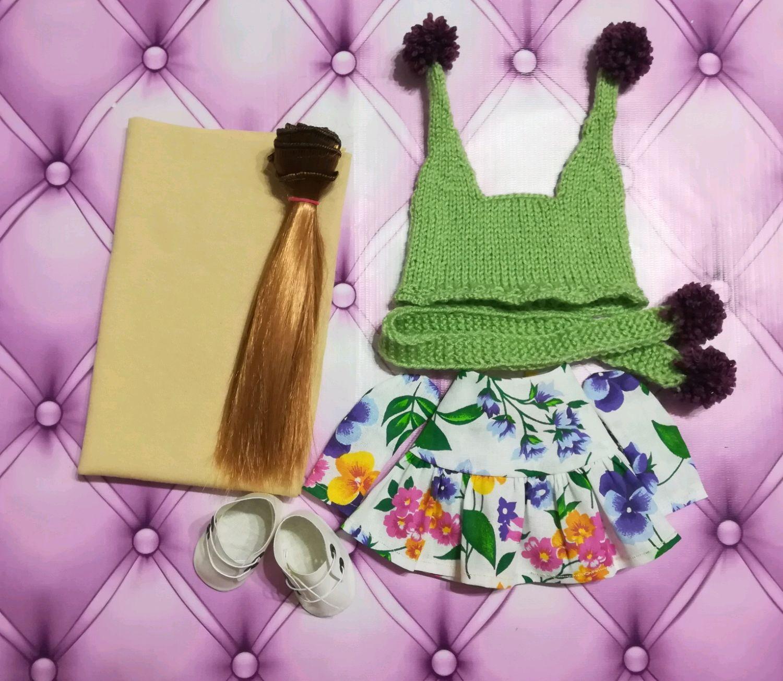 Набор для создания куклы Марины, Одежда для кукол, Геленджик,  Фото №1